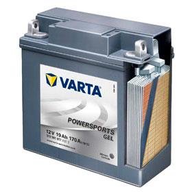 Мото аккумулятор Varta Gel 519901