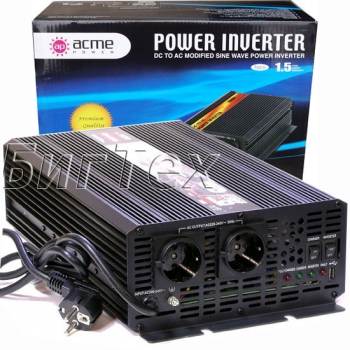 Авто инвертор AcmePower AP-DS3000, 12-220 В, 3000Вт