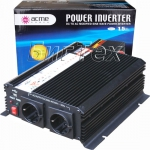 Авто инвертор AcmePower AP-DS1600, 12-220V, 1600Вт