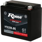 Мото аккумулятор RDrive Silver YTX20L-BS AGM 18.9 Ач
