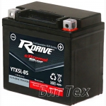 Мото аккумулятор RDrive Silver YTX5L-BS AGM 4.2 Ач